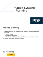 Is Planning 1