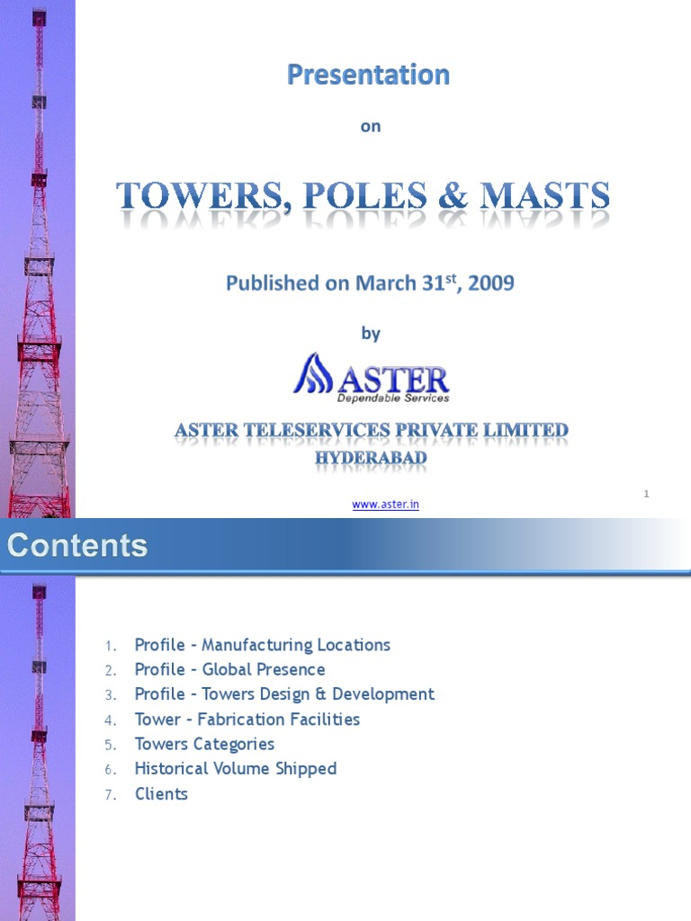 Aster Tower Presentation V6