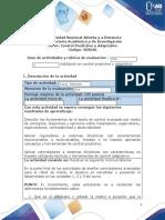 Guía de actividades y rúbrica de evaluación - Tarea 5 - Validación en control predictivo y adaptativo.docx