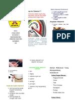 leaflet cholestrol