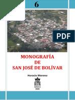 Libro Monografía de SJB HORACIO MORENO Nº 6 BATR