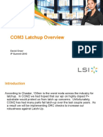 COM3 Latchup Overview