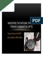 Navigating the NPTE [Compatibility Mode].pdf