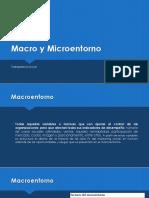 Macro y  Micro entorno