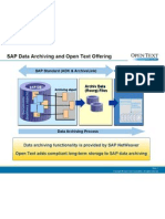 SAP Data Archiving - Added Value by SAP Document Access