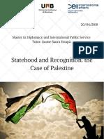 palestine recogmiton