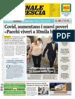 Giornale Di Brescia 8 Maggio 2020