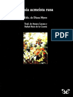 Varios Alexander Blok, Ana Ajmatova, Osip Mandelstam y otros - Poesia Acmeista Rusa.pdf
