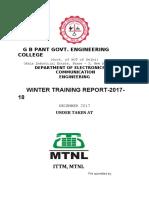 mtnl report 2017-18