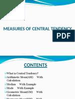 Measures of Central Tendency _1