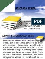 Cls_X_Comunicarea_scrisa_material_prezentare