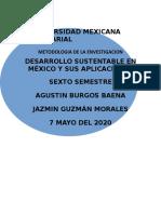 Ecología y metodología del desarrollo sustentable