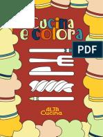 """""""Cucina e Colora"""", l'eBook con ricette da colorare e cucinare per tutte le mamme e i loro piccoli."""