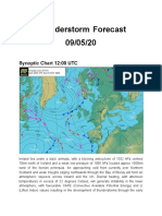 Ireland's Weather Channel Thunderstorm Forecast