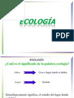 Clase 1A. CONCEPTOS PREVIOS ECOLOGIA - AMBIENTE