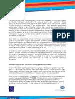 Certification Method ISO 9001-2008