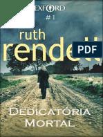 Dedicatoria mortal - Ruth Rendell