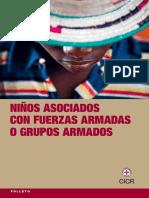 Niños Asociados Con Fuerzas Armadas o Grupos Armados