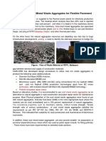 Coal Mixed Waste Aggregates
