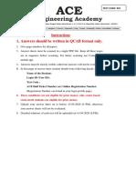 1st Test Paper