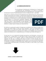LA COMUNICACION EFECTIVA - SESION 02