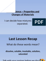 separating materials ppt