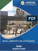 REGLAMENTO DE ESTUDIOS 2020