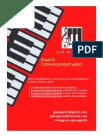 Piano Complementario de Gio Miranda - M1