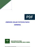 Energía solar fotovoltaica general (Agencia Andaluza de la Energía)