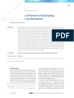 The Promise of Fintech in Emerging Economies