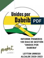 _INFORME DE GESTIÓN_100_DIAS_UNIDOS_POR_DABEIBA