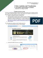 Descriptive and Predictive Analytics