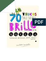 70 trucos para sacarle brillo a tu novela