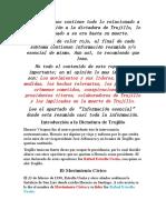 Repaso de sociales examen Final - La Dictadura de Trujillo.