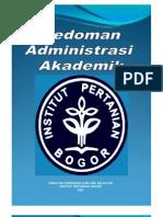 Pedoman Administrasi Akademik Tahun 2007