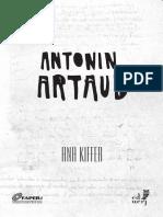 Ana Kiffer, Antonin Artaud