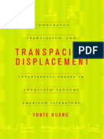 Yunte Huang - Transpacific Displacement_ Ethnography, Translation, and Intertextual Travel in Twentieth-Century American Literature (2002)