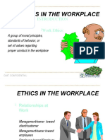 Business & Workplace Ethics