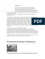 Histoire de Bergerat Monnoyeur