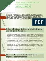 Semana 1 Sistema Nacional de Control y sus organos conformantes
