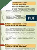 Semana 2 Atribuciones del SNC, designacion del contralor, facultad sancionadora, infracciones sancionables