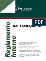 reglamento inter de transporte frrs 2015