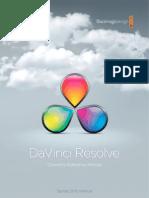 DaVinciResolveManual
