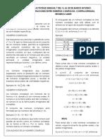 Taller 9° N°1 Matematicas(números+complejos,+contrajornada+y+teorema+de+Pitágoras;Tales)