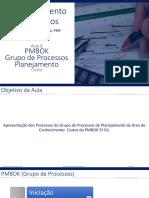 GP_Aula_08 PMBOK Processos Planejamento_Custo