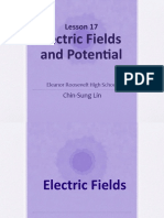 Presentation Lesson 17 Electric Fields and Potential