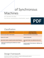 Design of Synchronous Machines