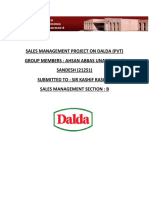 SALES MANAGEMENT PROJECT ON DALDA.docx