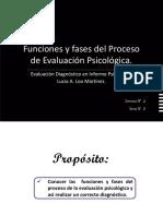 2.- Funciones y Fases del Proceso de Evaluación y Diagnostico.
