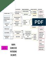 Mapa clinico de patogenesis